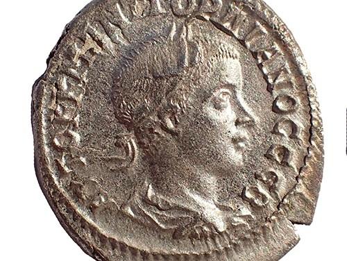 Gordian III 238-244 AD Antioch 26mm 12.33gm Silver Tetradrachm