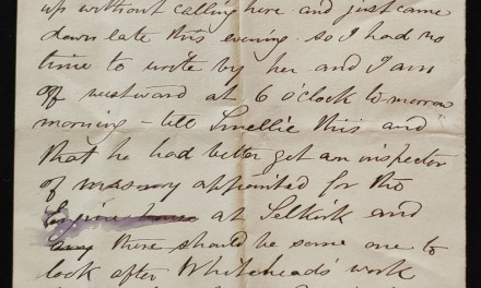 C.P.R. Office of the Engineer in Chief 11 Au 1878 Marcus Smith letter