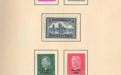 Germany #367/B48 1933 U.P.U. Ottawa Conference