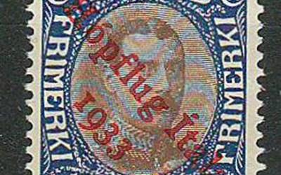 Iceland #C12 1933 1k Airmail
