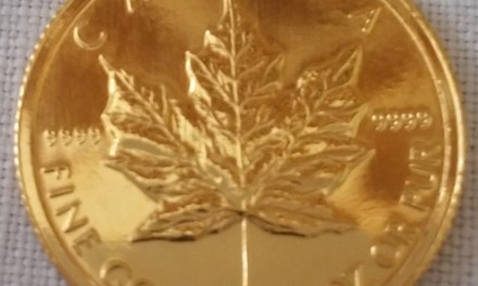 Canada BU 1994 .9999 Fine 1/10 Ounce $5 Gold Maple Leaf