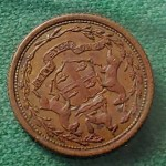 H.B.C. 1857 1/8 Made Beaver Eastmain Token