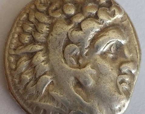 Macedonia VF 336-323 BC Alexander the Great Silver Drachm