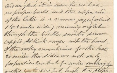 150 Mile House, B.C. 1872 Marcus Smith Letter to his wife