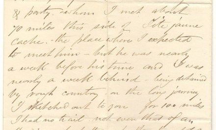 Victoria, B.C. 11 Oct 1872 Marcus Smith 2-page Letter to his wife