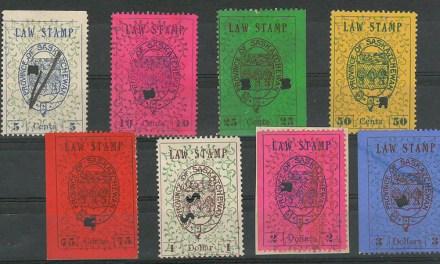 Saskatchewan #SL13-Sl20 1907 Law Set (8)