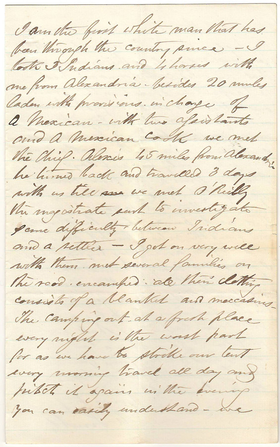 Page 3 of letter to Annie