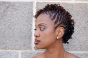two strand twist natural hair styles