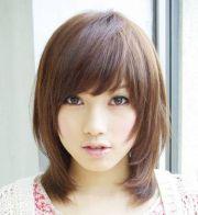 korean shoulder length hairstyles