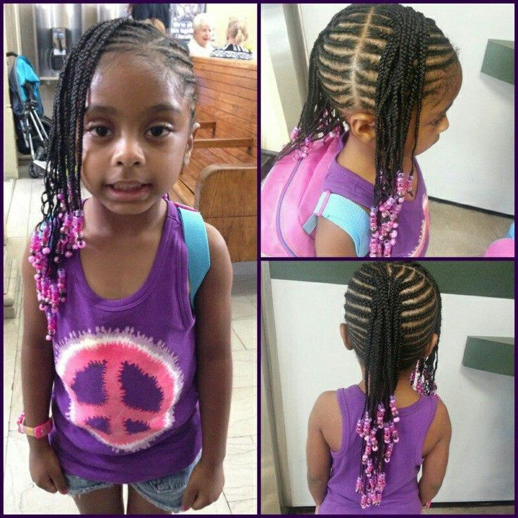Toddler Hairstyles With Beads