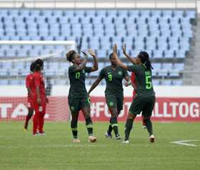 2018 AWCON Top Scorer Prize : Nigeria's Attacking Trident In Top Four