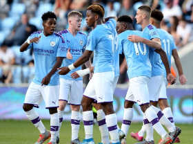 Nigerian Winger Makes His Debut For Manchester City In Seven-Goal Thriller Vs Liverpool U18