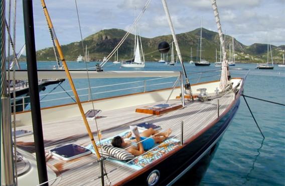 89 Don Brooke Sailing Yacht Aurastel For Sale All Ocean