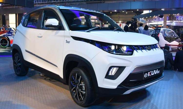 Mahindra announced to launch Electric KUV100 (eKUV100) in Mid 2019