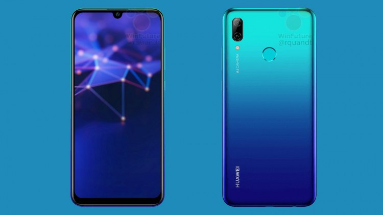 Huawei P Smart 2019 smartphone Leaked online with Kirin 710 Chipset and AI Camera