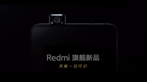 Pop up Camera of Redmi K20