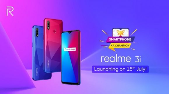 Realme 3i powered by Helio P60 SoC & 4,230 mAh battery launching on July 15, Specs, Price