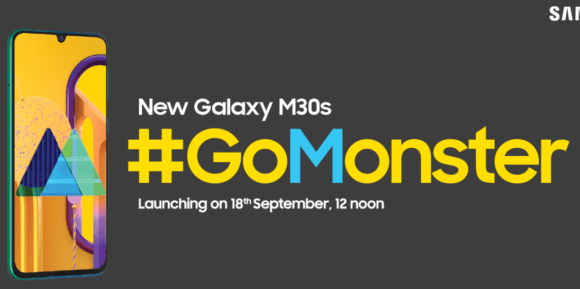 Samsung Galaxy M30s with 6000mAh battery launch set for 18th September via Amazon
