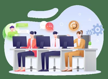 Offre emploi Bruxelles : Call center – EN / FR