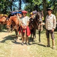 Victor et Lola traversent l'Argentine à cheval
