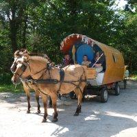 Un tour des Alpes en roulotte avec Anne et Oswald