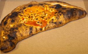 pizza Calzone soufflée
