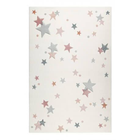 tapis pour chambre enfant etoile blanc jonne esprit home