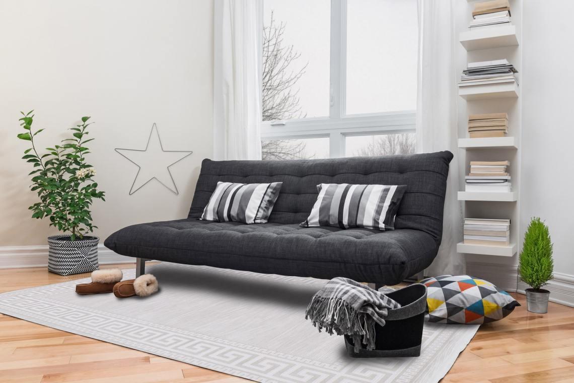 visez intemporalite avec un tapis gris
