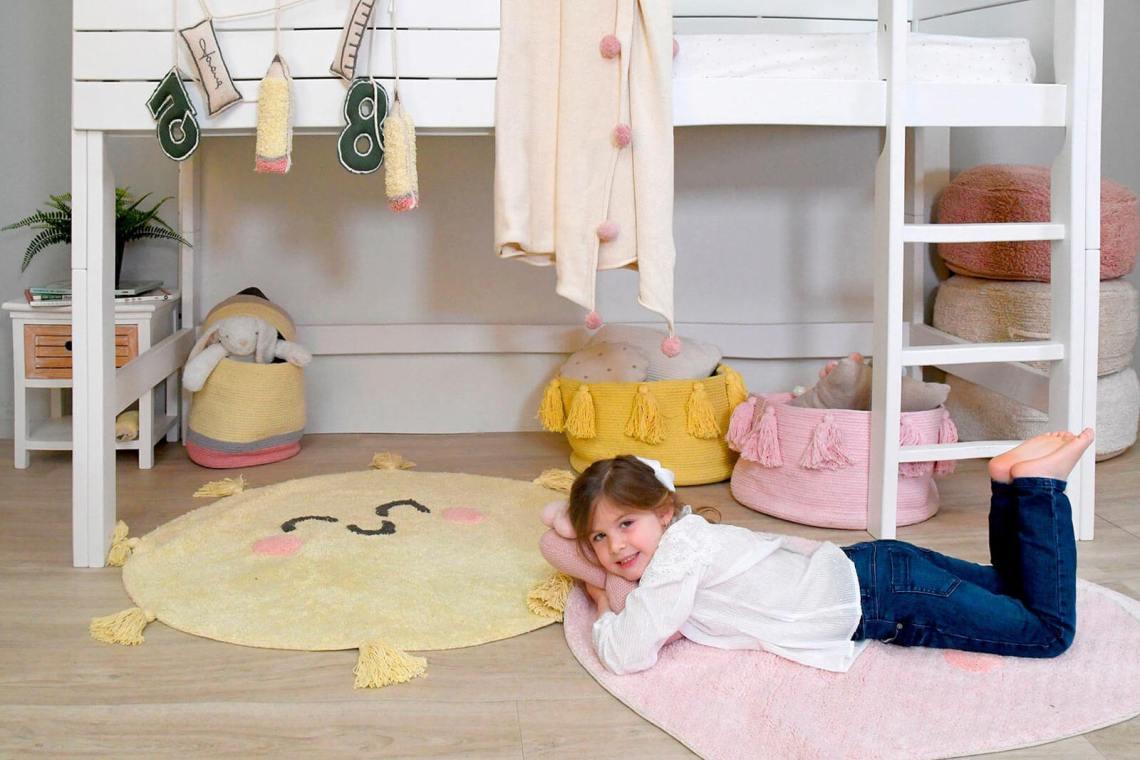 tapis rond enfant