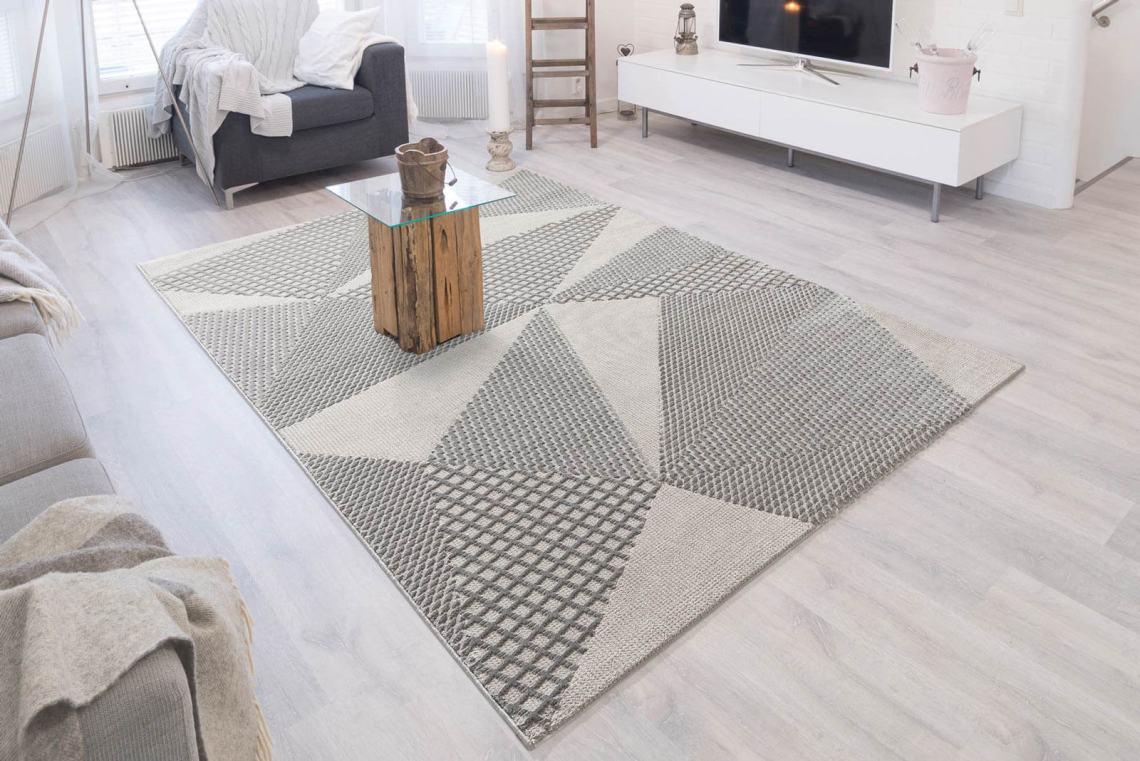 tapis de salon beige