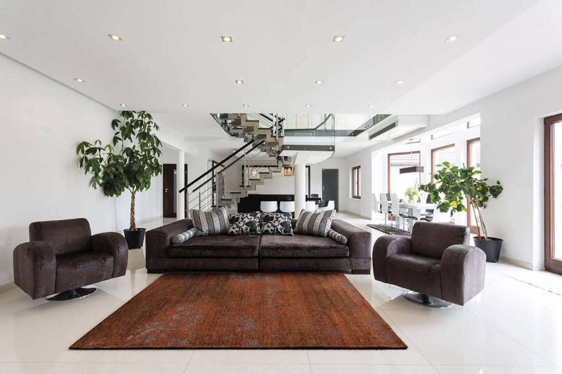 tapis de salon moderne