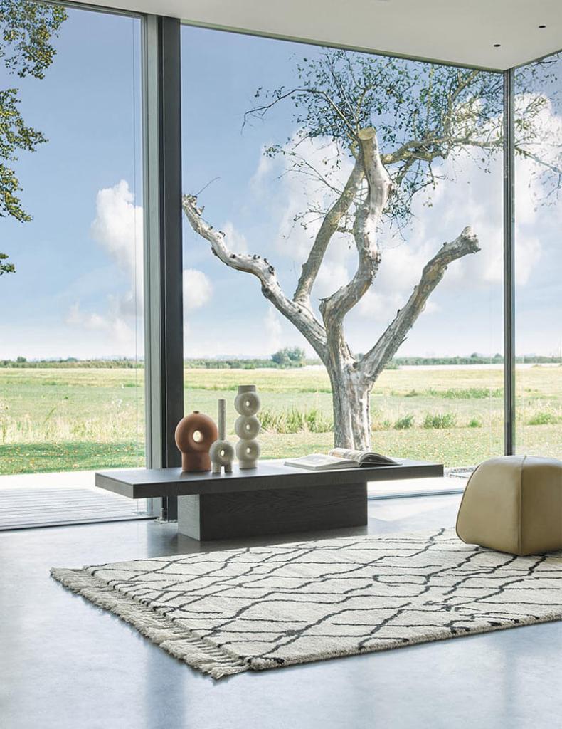 tapis berbère ivoire