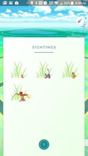 pokemon go mise a jour
