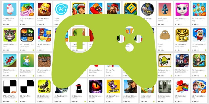 top jeux android semaine