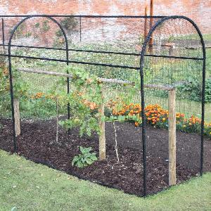 Steel Corridor Cage From Fruit And Vegetable Cages