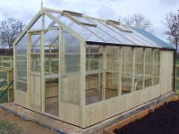 Wooden Greenhouses Compared to Aluminium