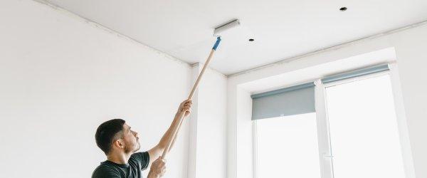 Peindre Un Plafond Sans Laisser De Traces Allotravaux Com