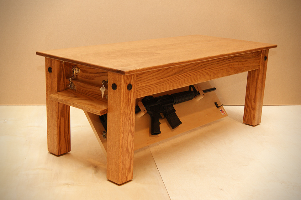 sofa gun safe sofas and loveseats under 300 hiding in plain sight furniture to hide your guns alloutdoor oak coffee table by new jersey concealment