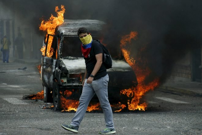 Venezuela Riots. Source: Flickr