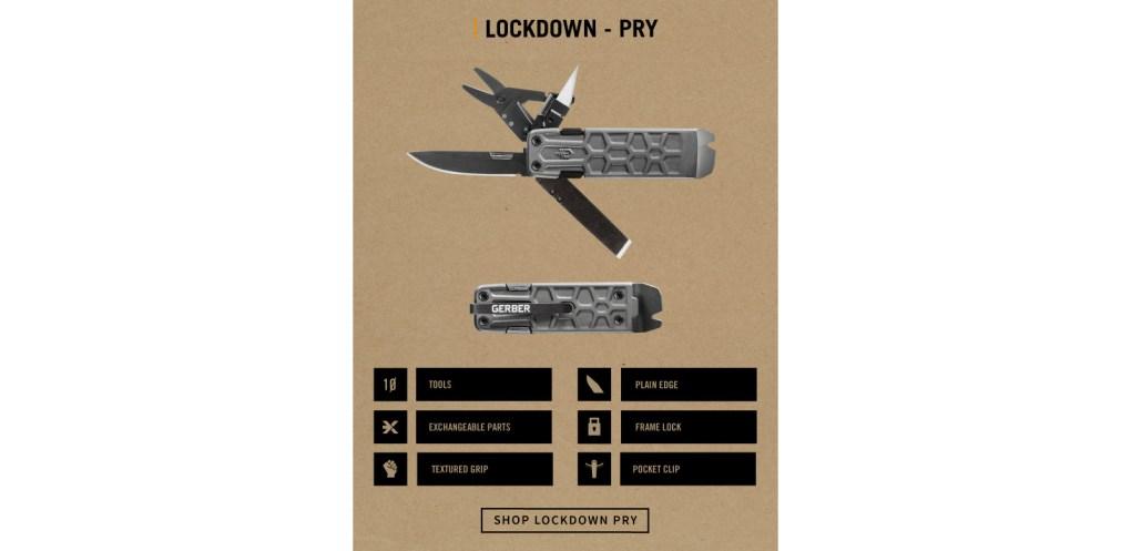 gerber lockdown