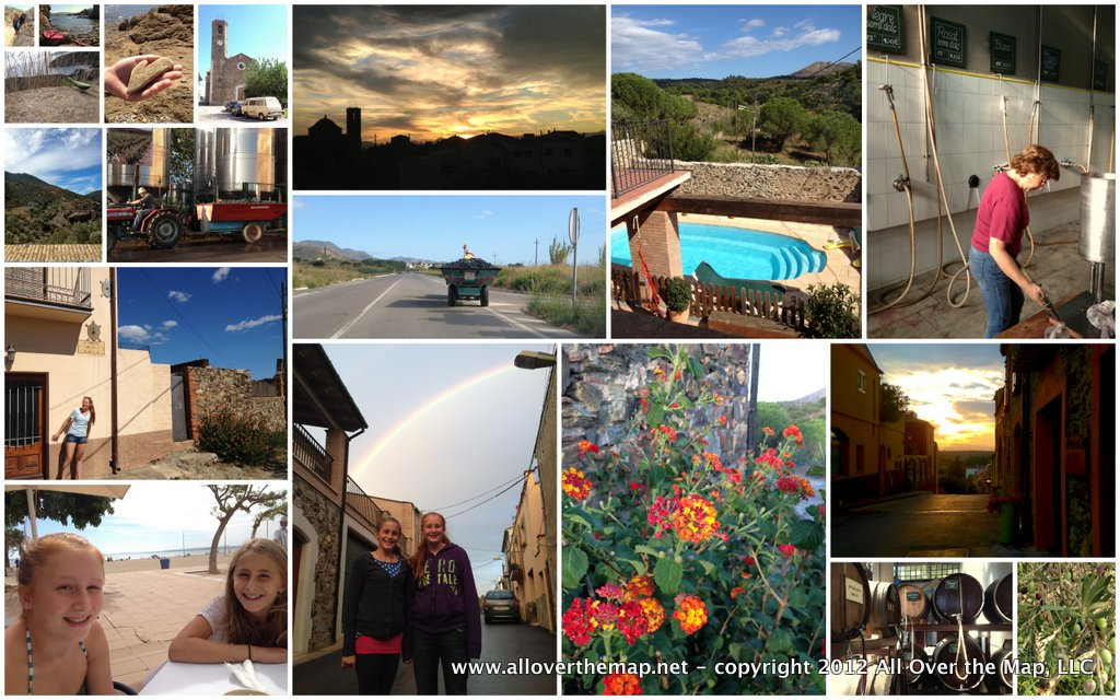 Photos from our RTW trip Week 4 in Costa Brava