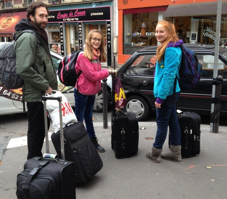 Our Family Eurail Adventure Begins
