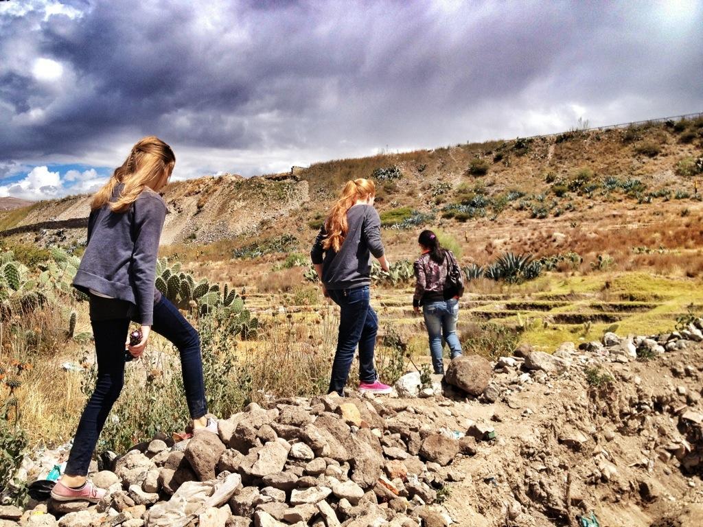 Walking across the Ollado (or Hoyado)
