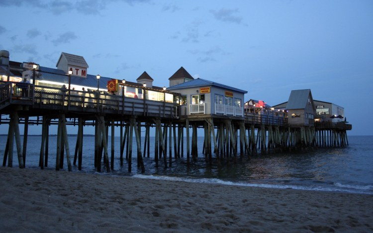 Pier in Old Orchard Beach