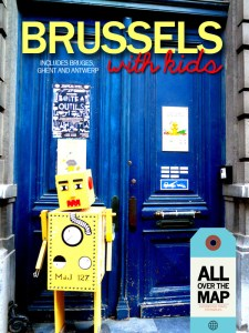 cover photo from e-book, Brussels with Kids