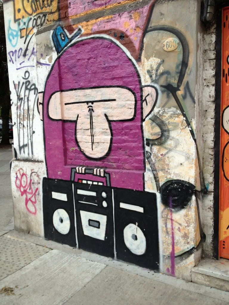 The Ubiquitous Monkey with a boombox