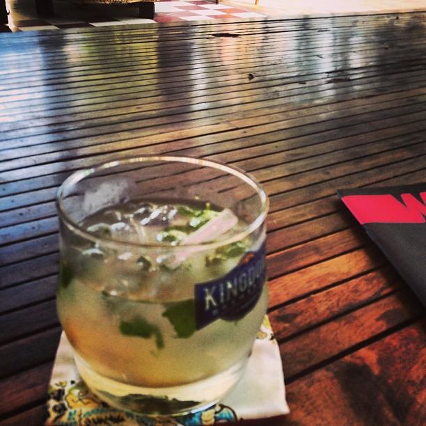 Hotel Circa 51's welcome ginger tea