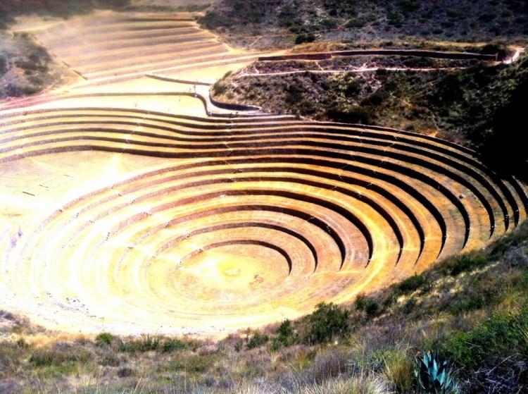 Ruins at Moray, Peru