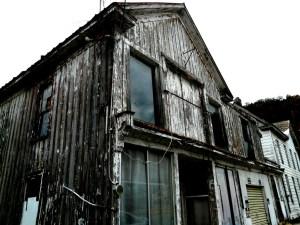 An abandoned building in Berkeley Springs, WV