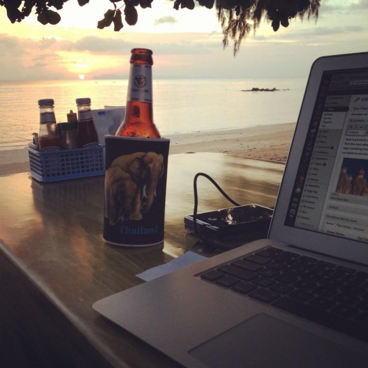 My office on Koh Jum